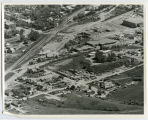 Aerial over industrial area, Minot, N.D.