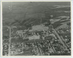 Aerial over John Moses Air Force Hospital, Minot, N.D.