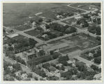 Aerial over school, Kenmare, N.D.