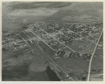 Aerial view of Bowbells, N.D.