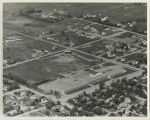 Aerial over school, Mohall, N.D.