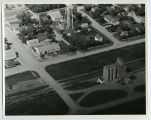 Aerial over elevator, Souris, N.D.