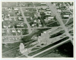 Aerial over elevators, Glenburn, N.D.