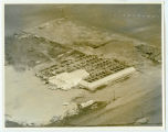 Aerial over Rugby Livestock Sales, Rugby, N.D.