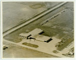 Aerial over school, Balta, N.D.