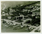 Aerial over Good Samaritan Hospital, Rugby, N.D.