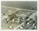Aerial over school, Esmond, N.D.