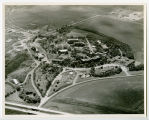 Aerial over Jamestown State Hospital, Jamestown, N.D.