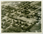 Aerial over school, Finley, N.D.