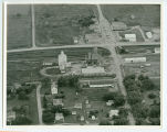 Aerial over elevators, Clifford, N.D.
