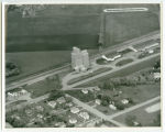 Aerial over elevators, Hatton, N.D.