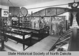 State Historical Society of North Dakota exhibit in old capitol building, Bismarck, N.D.
