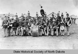 Fort Yates Military Band, Fort Yates, N.D.
