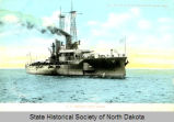U.S. Battleship North Dakota built by Fore River Ship Building Co., Quincy, Mass.