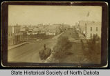 3rd Street looking north, Grand Forks, Dakota Territory