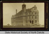 Old Main building, University of North Dakota, Grand Forks, Dakota Territory