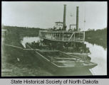 Riverboat Dakota on Red River, Man.