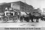 De Mores Medora to Deadwood Stagecoach in parade, Mandan, N.D.