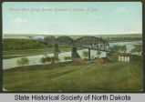 Northern Pacific railroad bridge, Bismarck, N.D.