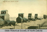 Grain elevators, Beach, N.D.