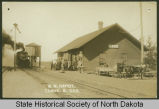 Great Northern Depot, Tagus, N.D.
