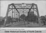 Bridge between Wahpeton, N.D. and Breckenridge, Minn.