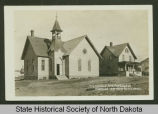 Methodist Episcopal Church and parsonage, Kenmare, N.D.