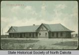 Great Northern Railroad Depot, Minot, N.D.