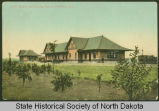 Great Northern Depot and eating house, Minot, N.D.