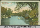 Mouse River at West Park, Minot, N.D.