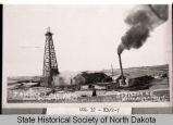 Townley's oil well, Robinson, N.D.