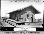 Northern Pacific Depot, Jessie, N.D.