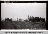 Road construction near Holmes, N.D.