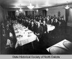 Nonpartisan League dinner after William Langer was acquitted, Bismarck, N.D.
