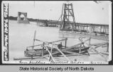 Liberty Memorial Bridge construction, Bismarck, N.D.