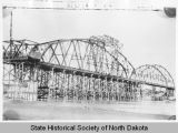 Liberty Memorial Bridge under construction, Mandan, N.D.