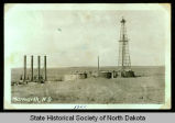 Oil rig near Marmarth, N.D.