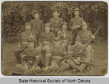 Regiment rifle team, 15th U.S. Infantry at Fort Buford, Dakota Territory