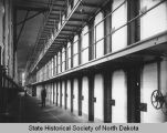 Cell block interior North Dakota Penitentiary, Bismarck, N.D.