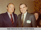 Arthur A. Link and Hubert H. Humphrey