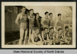 Members of Civilian Conservation Corps Camp 764 basketball team, Arkansas
