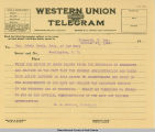 Nestos to Denby telegram...
