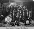 Fort Totten Indian School band, Fort Totten, N.D.