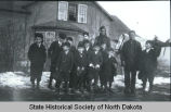 Fort Berthold Mission School students, Fort Berthold, N.D.