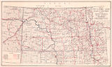 Map of electric and gas utilities serving North Dakota