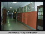 Central High School hallway, Devils Lake, N.D.