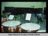 Central High School music room, Devils Lake, N.D.