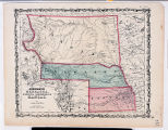Johnson's Nebraska Dakota Colorado & Kansas map