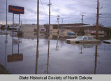 Flooded businesses, Grand Forks, N.D.
