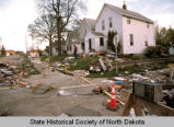 Flood damage, Grand Forks, N.D.